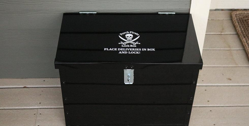 Gun Powder Black Lockbox
