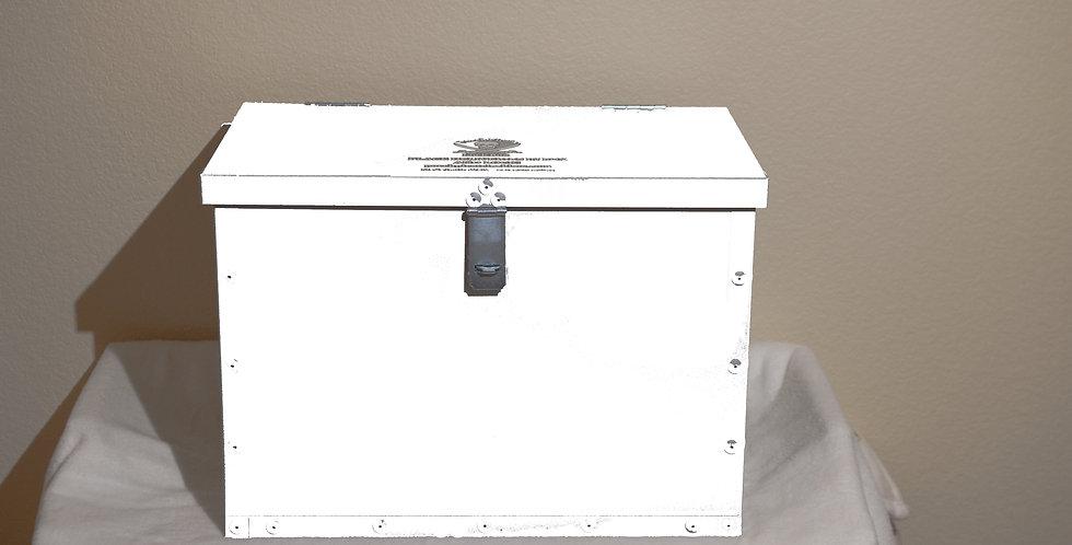 White Porch Pirate Lock Box