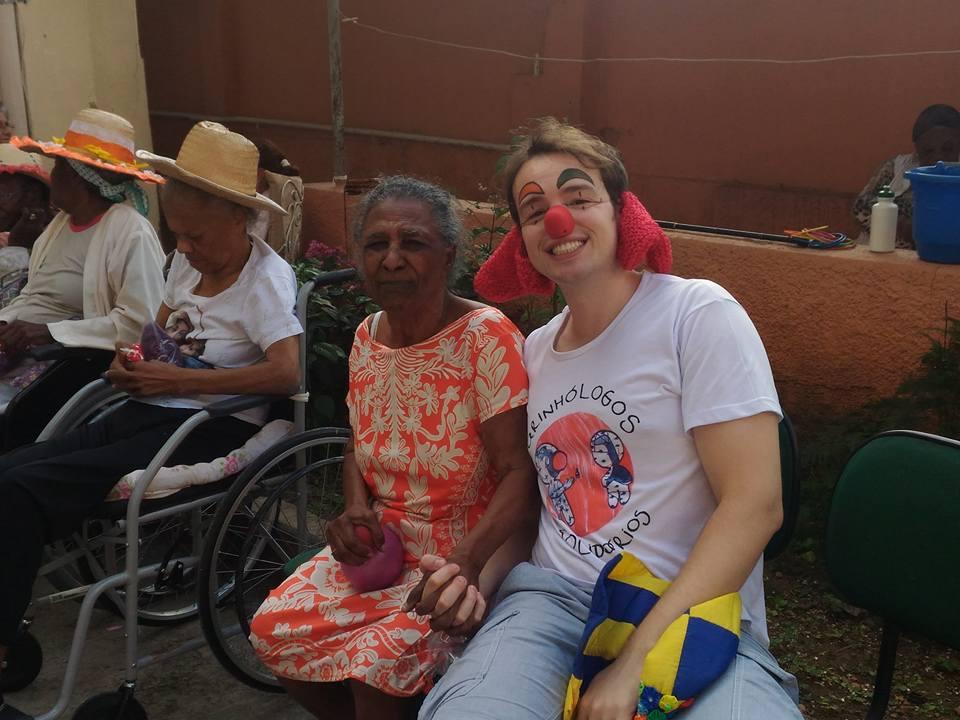 conversa com idosos