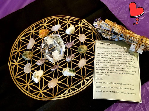 copy of Crystal Grid Kit - Protection