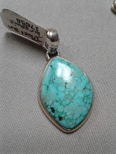 pendant golden turquoise heavenly stone and necklace products