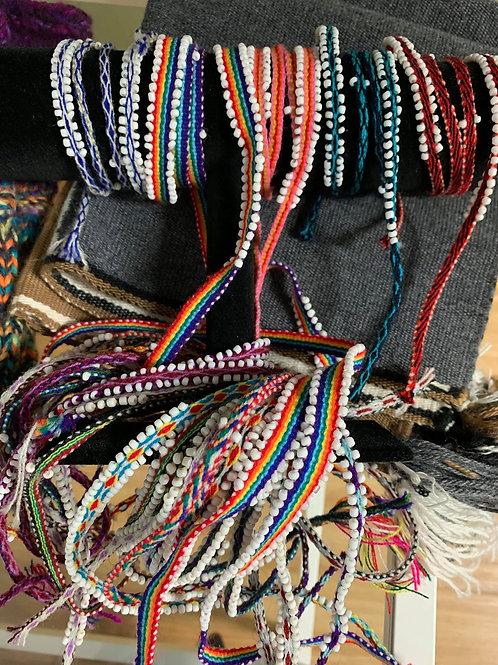 Mesa Cloth ties from Peru