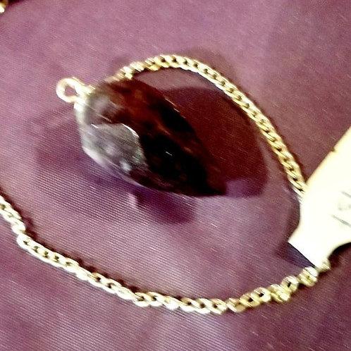 Pendulum - Faceted Amethyst