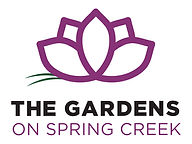 Gardens on Spring Creek Logo Stacked 3C.