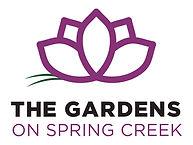 Gardens on Spring Creek Logo Stacked 3C.