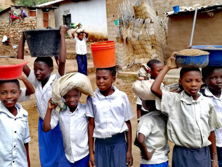 Door maandelijkse kleine gift of 1X gift, steunen we de schooltjes-strijd tegen de klimaatsopwarming