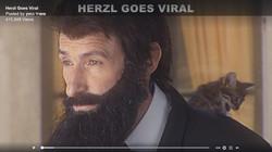 תלבושת הרצל וחתול ,סרטון משרד החוץ