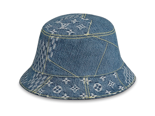 Denim lv Nigo hat