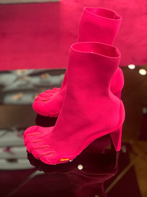 Balenciaga toe booties