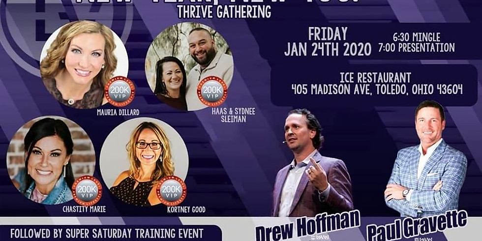 New Year, New You Thrive Gathering