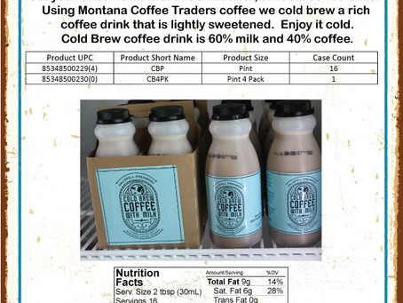 Cold Brew Coffee Available May 1st!!!