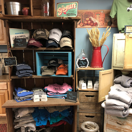 Gifts and more available in our farm store