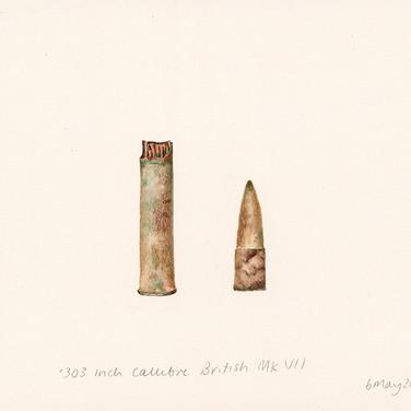 .303 callibre British Mk VII