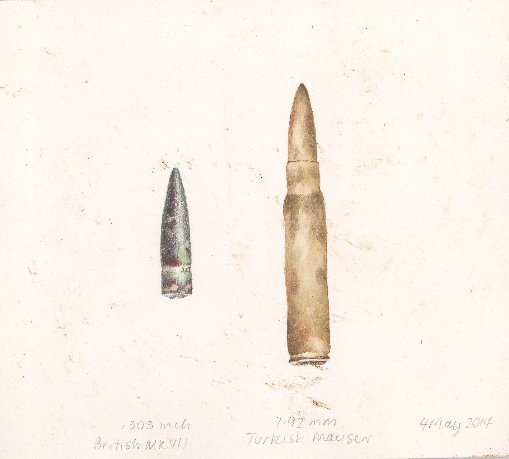 British and Turkish bullets