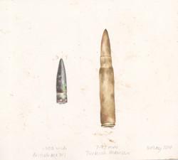 British and Turkish bullets