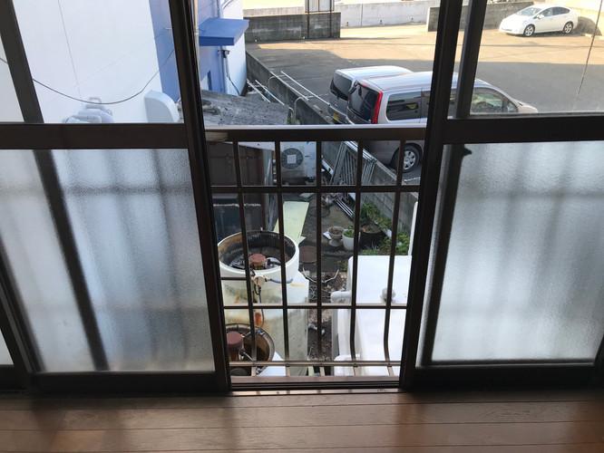 2階掃き出し窓
