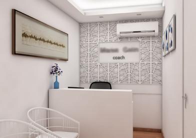 Projeto de design para escritório de Coaching
