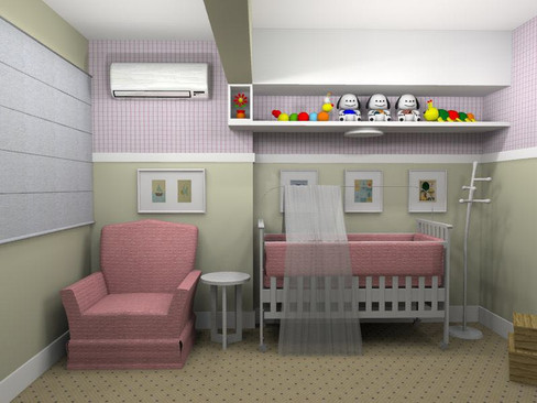 Projeto de design para quarto infantil