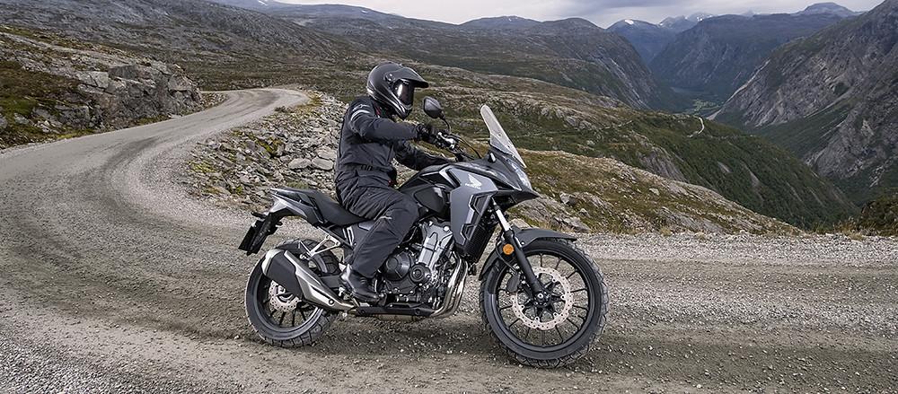 moto trajectoire de sécurité
