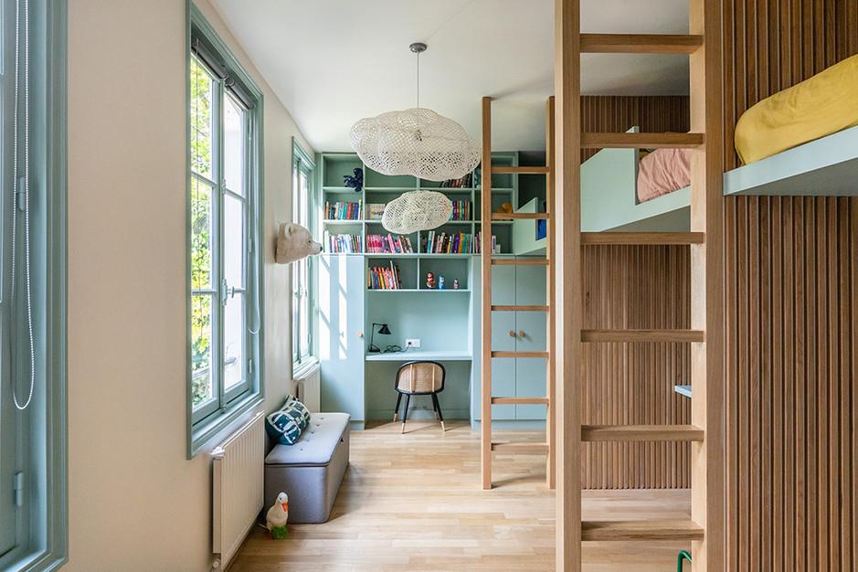 chambre enfants mezzanine