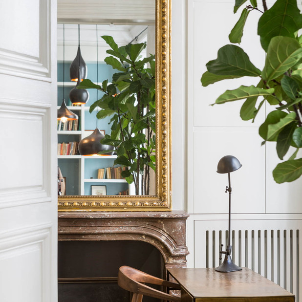Rénovation, aménagement intérieur et décoration d'un appartement pied-à-terre de 75m2, Paris 6e