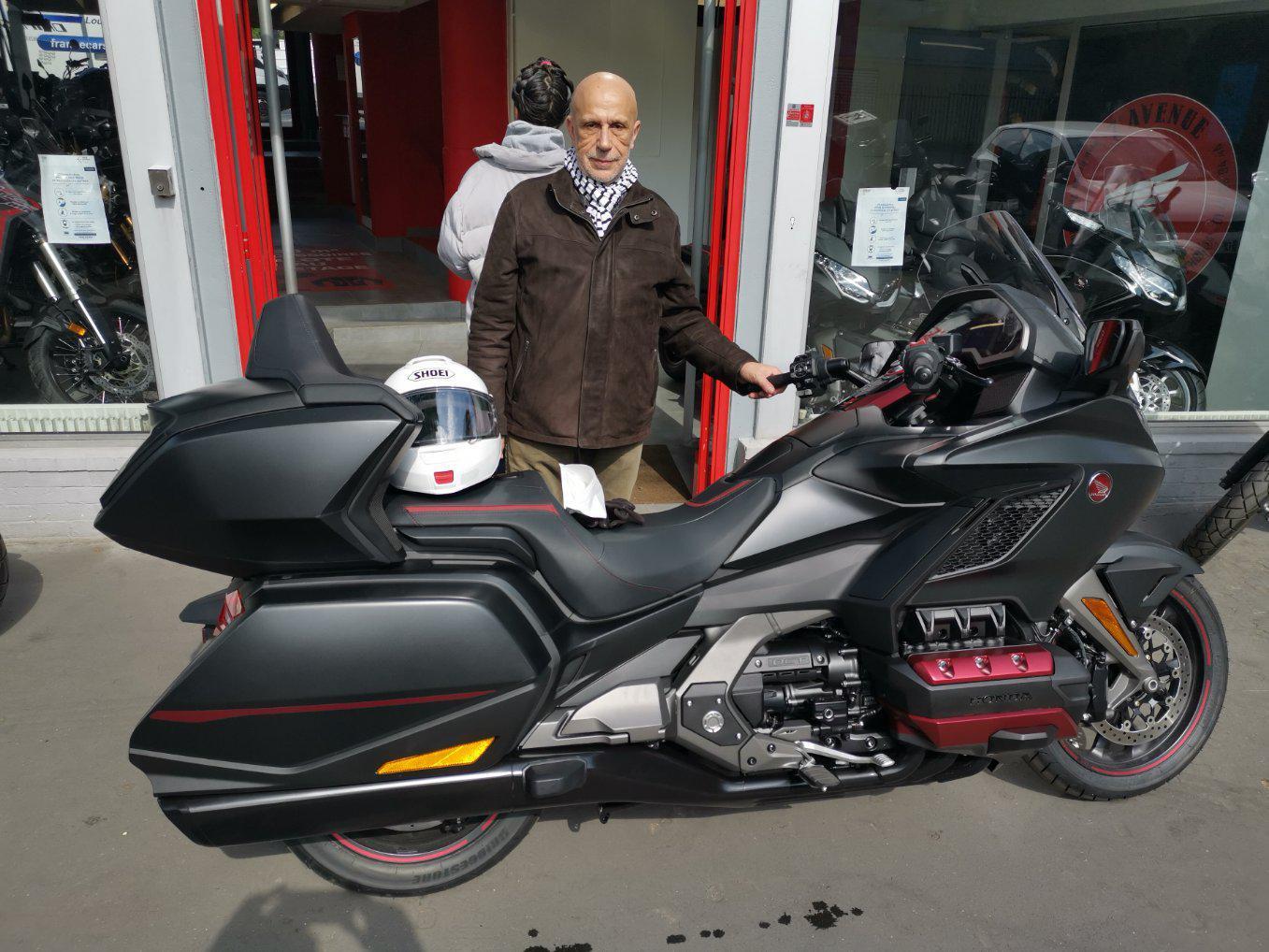 Livraison Moto Honda GOLDWING