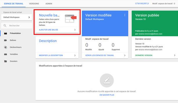 Google Tag Manager vous simplifie la vie