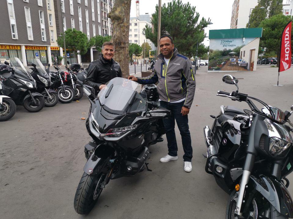 Livraison moto Honda
