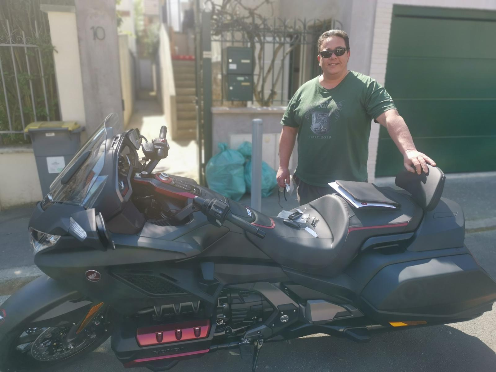Livraison moto à domicile