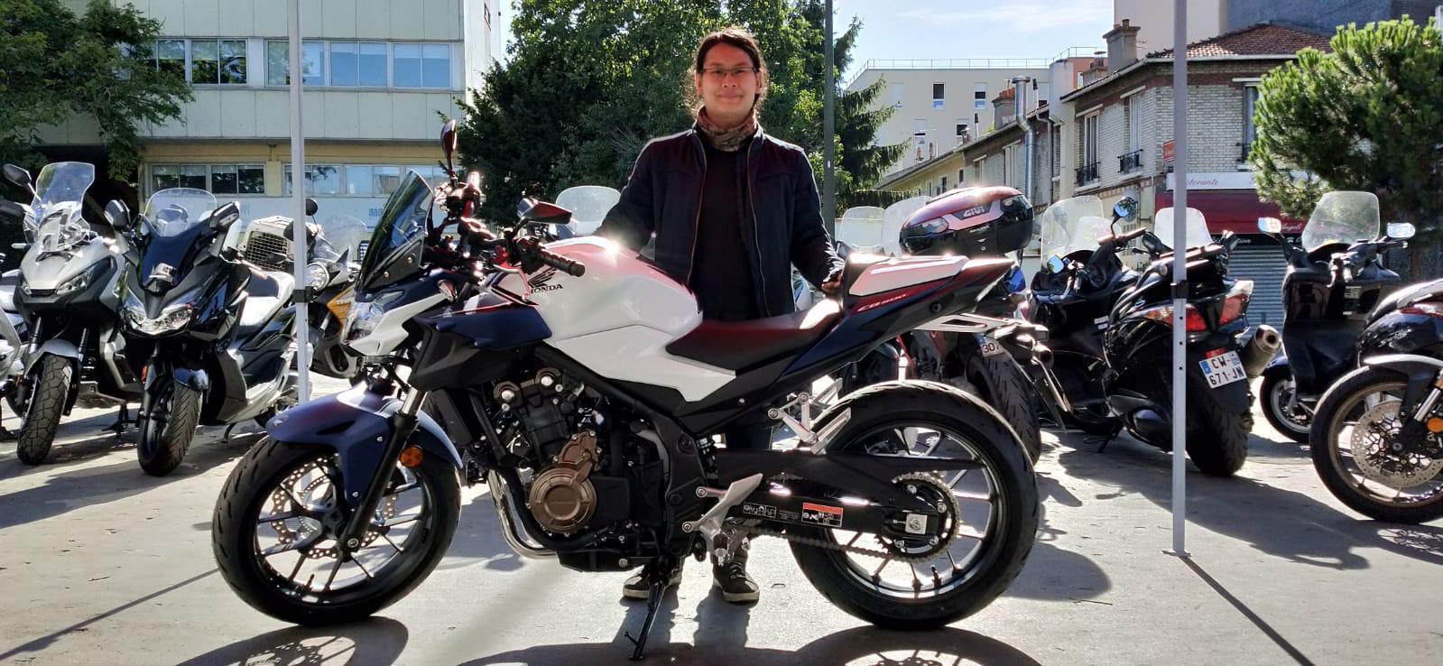 Livraison CB 500F Honda Moto