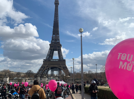 Paris Toutes en moto
