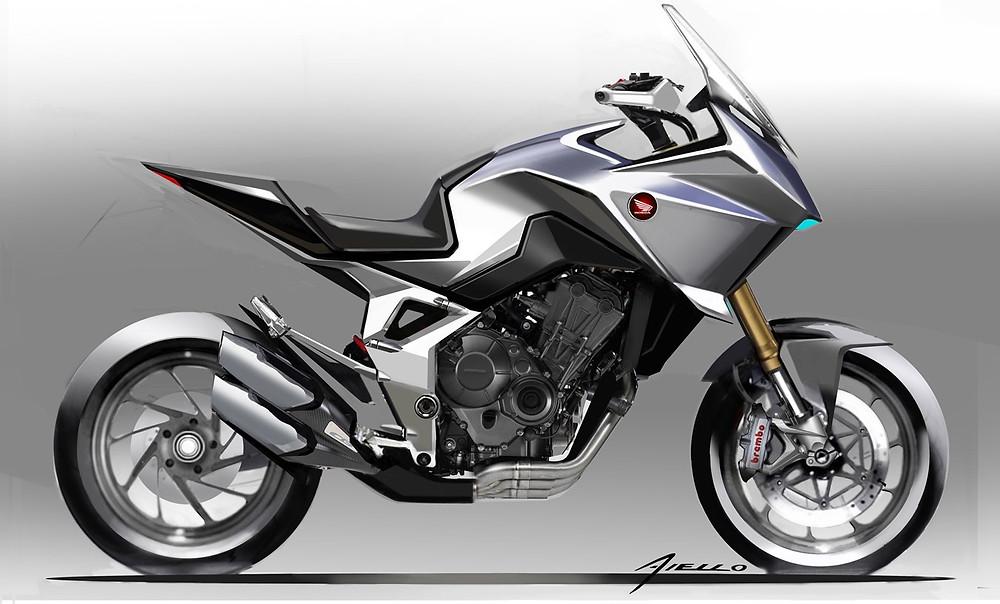 CB4X Concept Honda