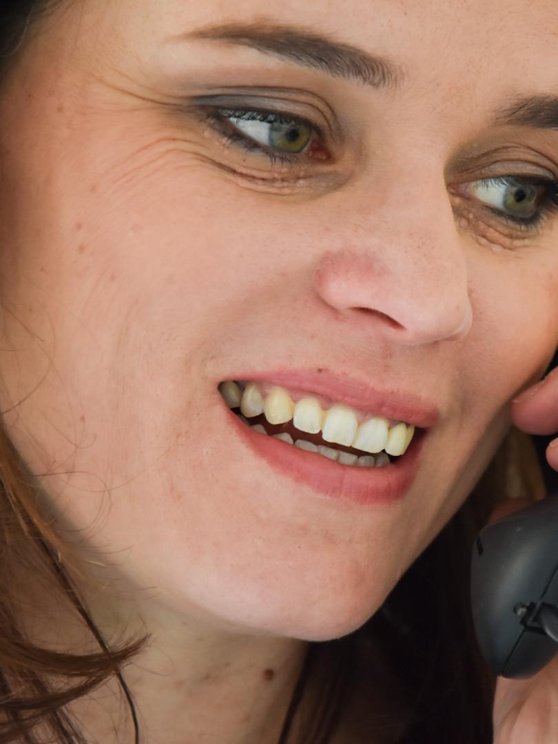 Roxane Vuez en RDV téléphonique
