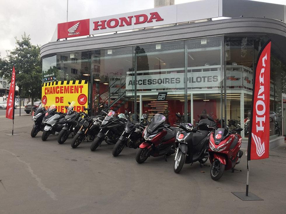 Réservation Concession Honda 7ème Avenue