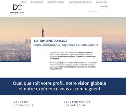 Site DELAHAYE Capital