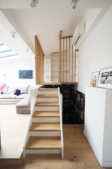 escaliers mezzanine