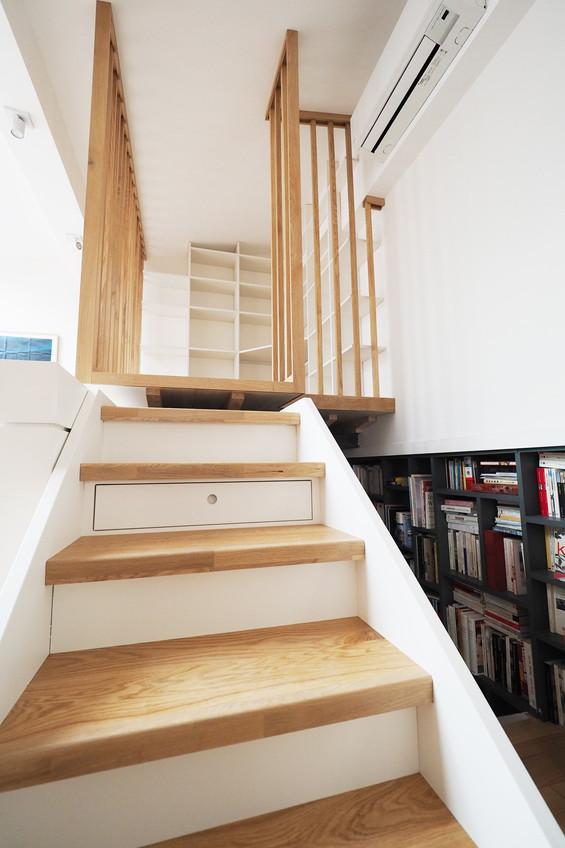 mezzanine escaliers
