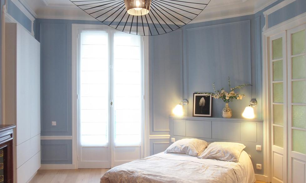 chambre dressing tete de lit