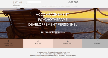 Création site internet Psychologue
