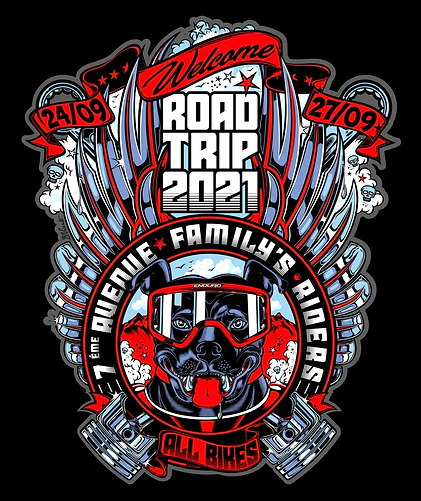 family's riders ROAD TRIP 2021