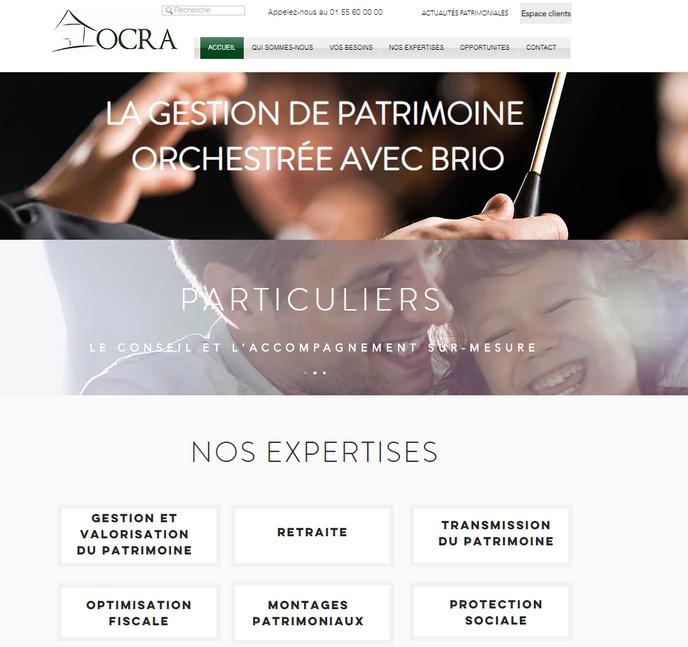 Site OCRA Conseils