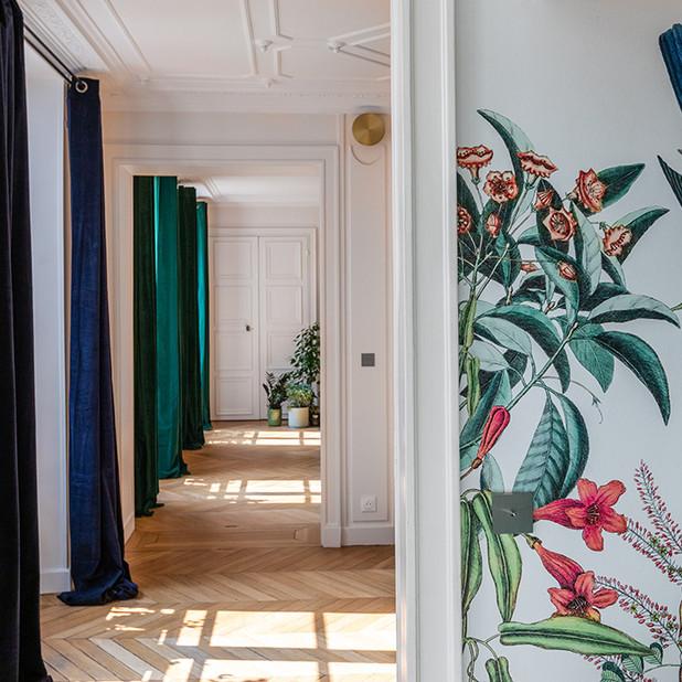 Rénovation et agencement d'un appartement pour une famille nombreuse, Paris 9e