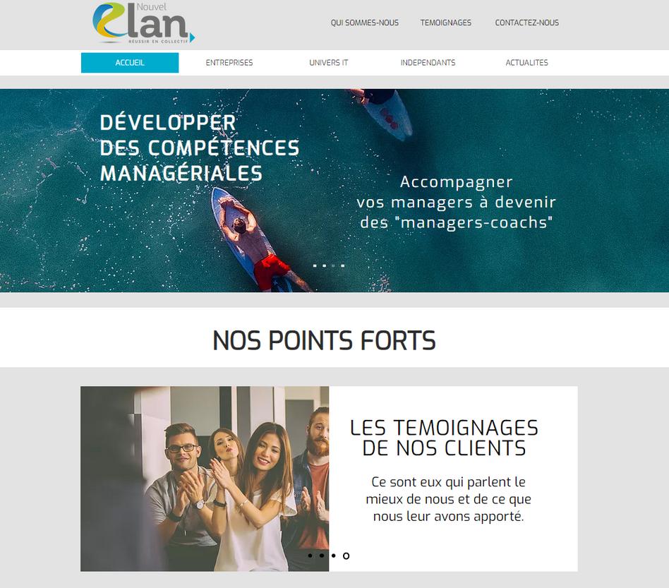 Site Nouvel Elan