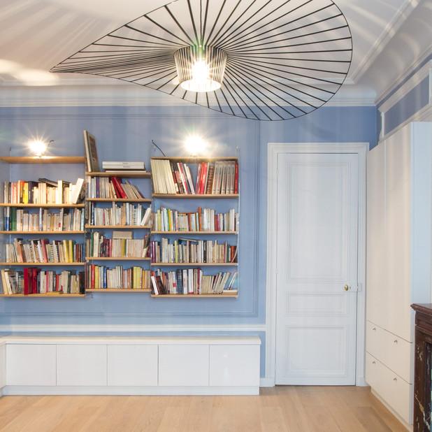 Rénovation et agencement d'un appartement Paris 9e