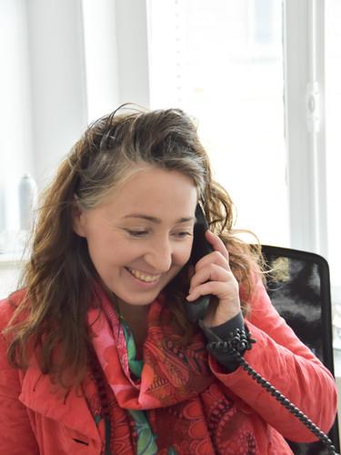 Béatrice Ledermann en RDV téléphonique