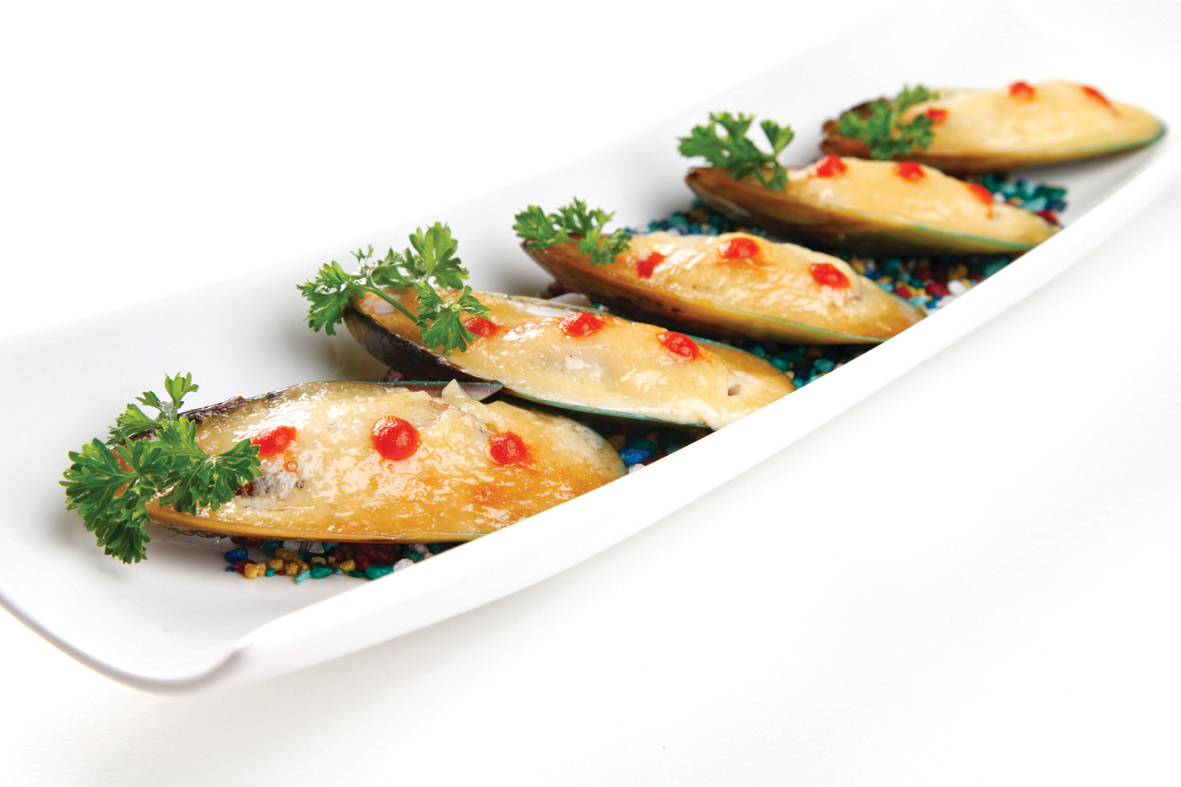 BROILED MUSSEL