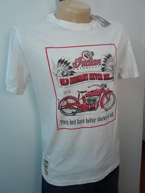 Camiseta manga corta estampada para hombre