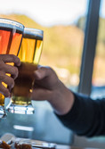 Enjoy a craft beer with friends in Nelson at Flames on Forty Restaurant and Bar.