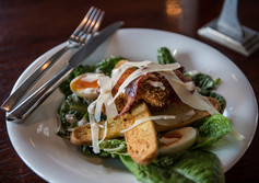Enjoy The Caesar salad at Nelson's Flames on Forty Restaurant and Bar.