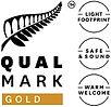 Qualmark Gold Award Logo - Seafood Odyssea Cruise, New Zealand